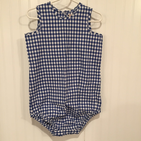 Crewcuts Other - JCrew Baby Crewcuts Gingham one piece 18-24mos